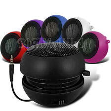 3.5MM PORTABLE CAPSULE BLACK SPEAKER FOR VARIOUS MOBILE PHONES