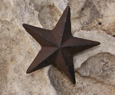 Star Nail Cast Iron Wall Garden Home Country Decor Rustic Western #123