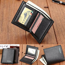 NEW MENS LEATHER WALLET BIFOLD MONEY POCKETS PURSE CREDIT ID CARD HOLDER CLUTCH