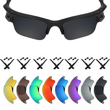 MRY POLARIZED Replacement Lenses for-Oakley Fast Jacket XL Sunglass - 12 Colors