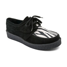 Start-rite Girls Angry Angels Creeper Shoes in Black Mix