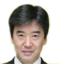 V Much Like Real Human Hair Short Full Wigs Genuine Men's Hairpiece Toupee wig V