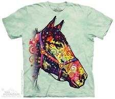 FUNKY HORSE ADULT T-SHIRT THE MOUNTAIN DEAN RUSSO