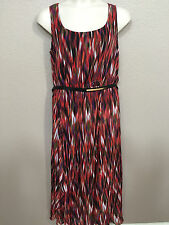 $159 (NWT) Calvin Klein Women's Sleeveless Belted  Dress Plus Sizes 14W/16W/18W