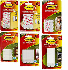 Command Self-Adhesive Photo Picture Mirror Hanging Strips Mounts Refills Hook