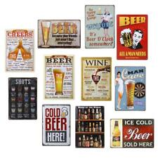 20x30cm Vintage Metal Sign Art Tin Poster Plaque Pub Bar Cafe Home Wall Decor