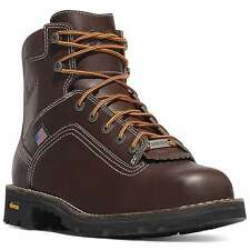 "Danner USA Made  #17303 Safety Toe  6"" Quarry Gore-tex Work Boot."