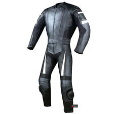 2PC HUMP MOTORCYCLE 2 PC LEATHER RACING SUIT ARMOR GM