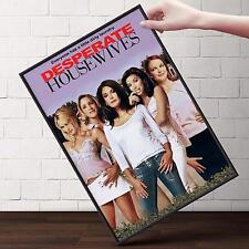 DESPERATE HOUSEWIVES CAST TV Show Poster | Cubical ART | Gifts | FREE Shipping