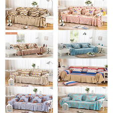 Removable Jacquard Sofa Towel Sofa Lounge Couch Slip Covers For 1 2 3 & 4 seater