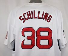 NEW Mens NIKE Boston RED SOX Curt SCHILLING #38 Batting Practice White Jersey