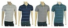 GAP Men's Polo Style Green, Gray, Beige or Blue Striped Casual Shirt New w/ tags