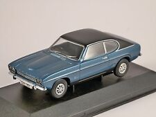 FORD CAPRI Mk1 3000 GXL in Blue 1/43 scale model CORGI Vanguards
