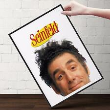 SEINFELD - KRAMER TV Show Poster | Cubical ART | Gifts For Guys | FREE Shipping
