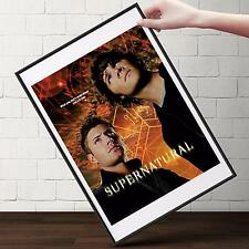 SUPERNATURAL TV Show Poster | Cubical ART | Gifts For Guys | FREE Shipping
