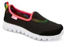 S Sport Designed by Skechers™ Youth Big Girls Black Slip-on Sneakers Shoes - NEW