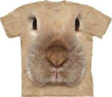 "RABBIT ""BUNNY FACE"" ADULT T-SHIRT THE MOUNTAIN"