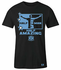"""HALF MAN HALF AMAZING"" T-Shirt to Match Foamposite One""University Blue"""