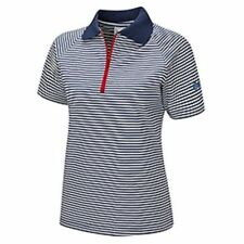 """OFFICIAL GIRL GUIDE STRIPED POLO SHIRT GUIDEWEAR 26""""  40'  42"""""""