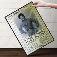 TOM JONES Concert Poster | Cubical ART | Gifts For Guys, Geeks | FREE Shipping