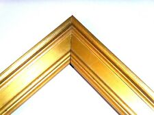 1 1/4 Small Aged Gold Leaf Plein Air Picture Frame-Custom Standard Size