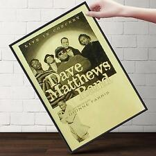 DAVE MATTHEWS BAND CONCERT Poster   Cubical ART   Gifts For Guys   FREE Shipping