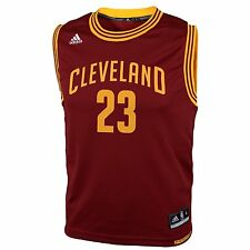 NBA Cleveland Cavaliers Youth Boys 8-20 Replica Road Jersey, James # 23 #342879