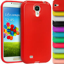 Glossy TPU Case Gel Rubber Skin Back Cover For Samsung Galaxy Phones, S4, Mini