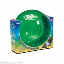"Hamster gerbil exercise ball 7"" 18cm super pet rainbow superpet cage"