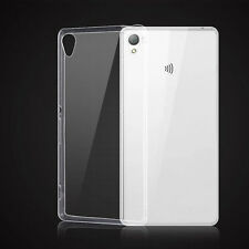 2016 Soft Silicon TPU Transparent Ultra Thin Gel Back Case Cover For Sony Xperia