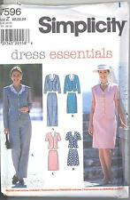 Simplicity 7596 Misses' Top, Pants, Skirt and Shorts 20, 22, 24  Sewing Pattern