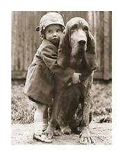 GIRLS BEST FRIEND (BASSETHOUND)  Poster | Cubical ART | Gifts | FREE Shipping
