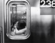 Subway Kiss Poster | New York Subway | Cubical ART | FREE Shipping