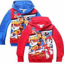 Newest Kids Girls Boys Fall Spring Cartoon Dog Casual New Hoodies Coat 3-7Years
