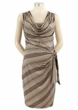 New Japanese Weekend Maternity and Nursing Side Sweep Modern Career Luxe Dress