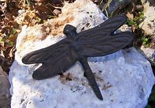 Dragonfly Nail Cast Iron - Wall Garden Home Country Rustic Primitive Decor #107