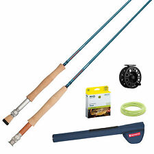 Redington Crosswater™ Rod & Reel Combo/Outfit 590 in 2 or 4 Piece