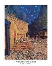 VINCENT VAN GOGH - CAFE TERRACE AT NIGHT | Cubical ART | Gifts | FREE Shipping