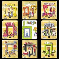 MME My Mind's Eye Assorted DIECUT PAGE KITS Scrapbooking RETIRED Teens Prom Car