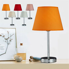 Hand Made Metal Cloth Home Cafe Bedroom Table Lamp Bedside Desk Floor Light La