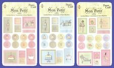 PROVO CRAFT EMBOSSED STICKER ACCENTS  BABY BOY BABY GIRL PREGNANCY BABY SHOWER