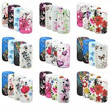 Cover Soft Gel Case Silicone Slim Rubber Protector Bumper phone pocket set of 4