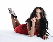 MEGAN FOX RED DRESS actress Poster | Cubical ART | Gifts | FREE Shipping