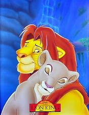 THE LION KING SIMBA & NALA Poster | Cubical ART | Gifts For Guys | FREE Shipping