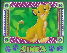 DISNEY THE LION KING SIMBA Poster | Cubical ART | Gifts | FREE  Shipping