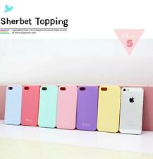 SALE- Fitted Cases Cute Korean Happymori Sherbet Topping Cases for iPhone 5/5S