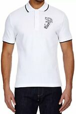 Versace Collection Medusa Polo shirt sz L XXL in white