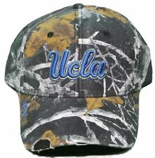 NEW! California Bruins Velcro Back Hat Pre-Distressed Hat Embroidered Camo Cap
