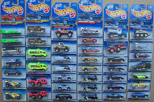1998 Hot Wheels Collector Card All Diff Variations Choice Lot 7 of 10