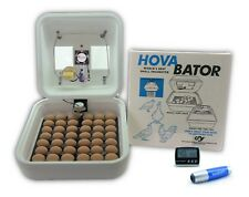 HovaBator Egg Incubator | IncuTurn Auto Turner | Fan Kit | Thermometer | Candler